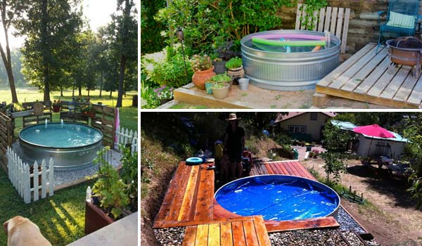 DIY Galvanized Stock Tank Pool to Beat The Summer Heat