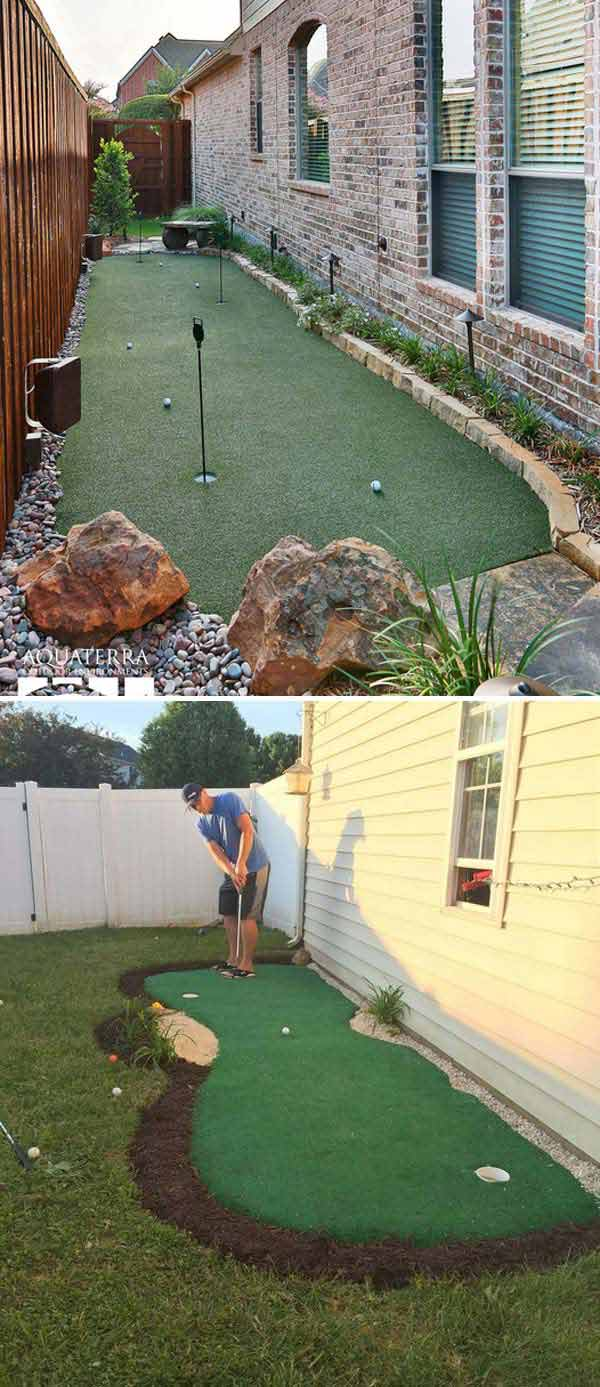 Awesome Ideas To Use Your Narrow Side Yard