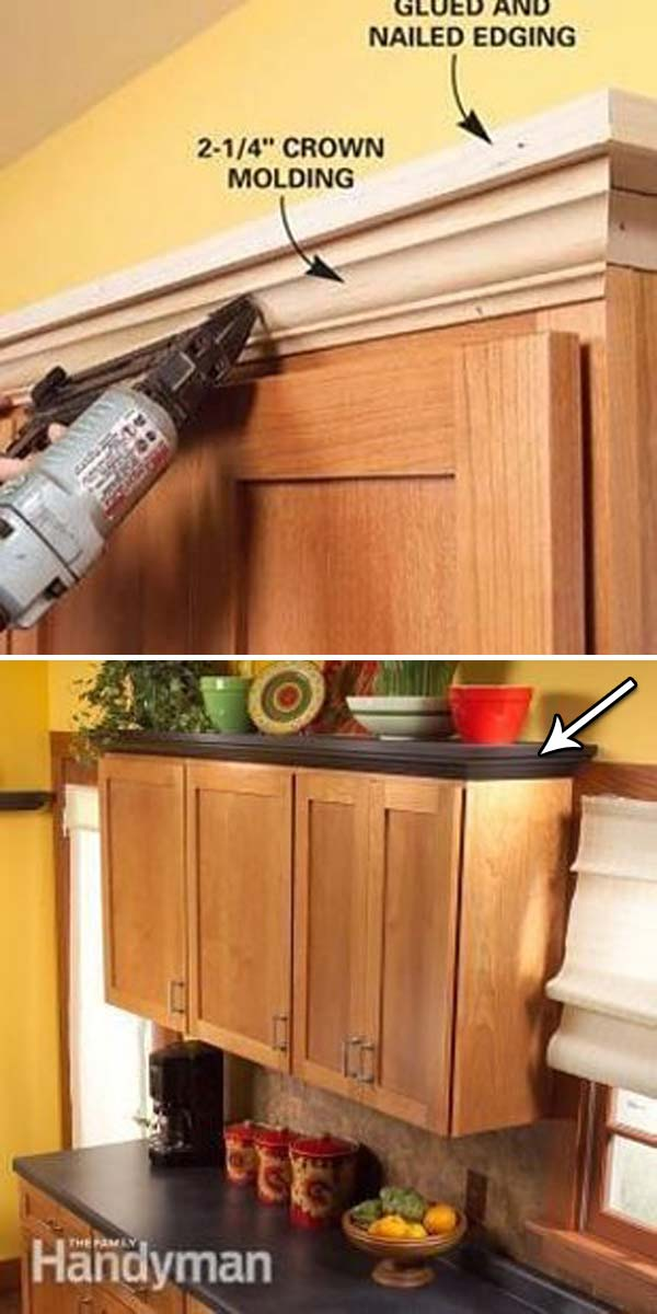 dressing up kitchen cabinets 20 inexpensive ways to dress up your home with molding 6966