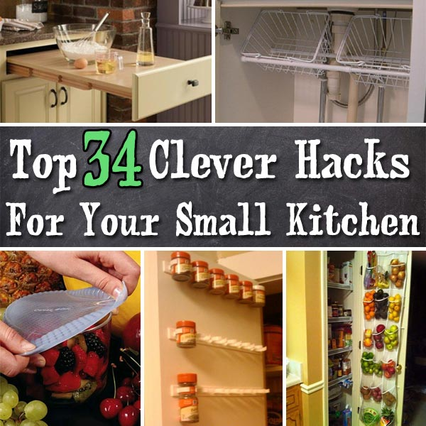 Clever Hacks For Small Kitchen