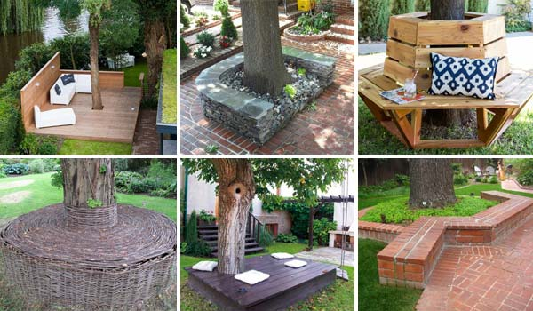 diy-seats-around-a-tree
