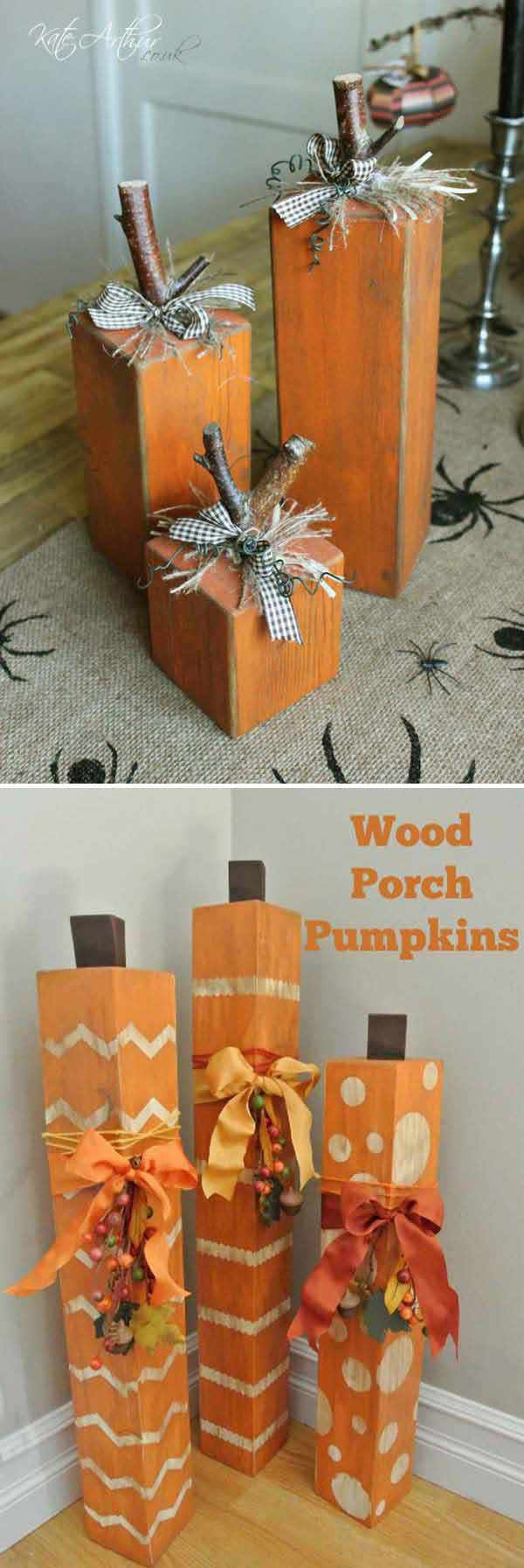20 halloween decorations crafted from reclaimed wood for How to make homemade halloween decorations