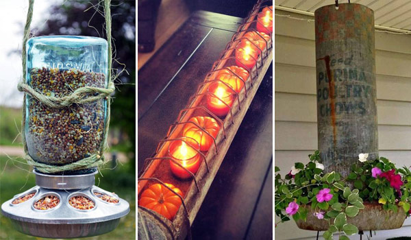 Top 20 Crazy Ideas to Repurpose Chicken Feeders