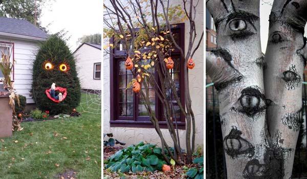 decorate-outdoor-tree-for-halloween