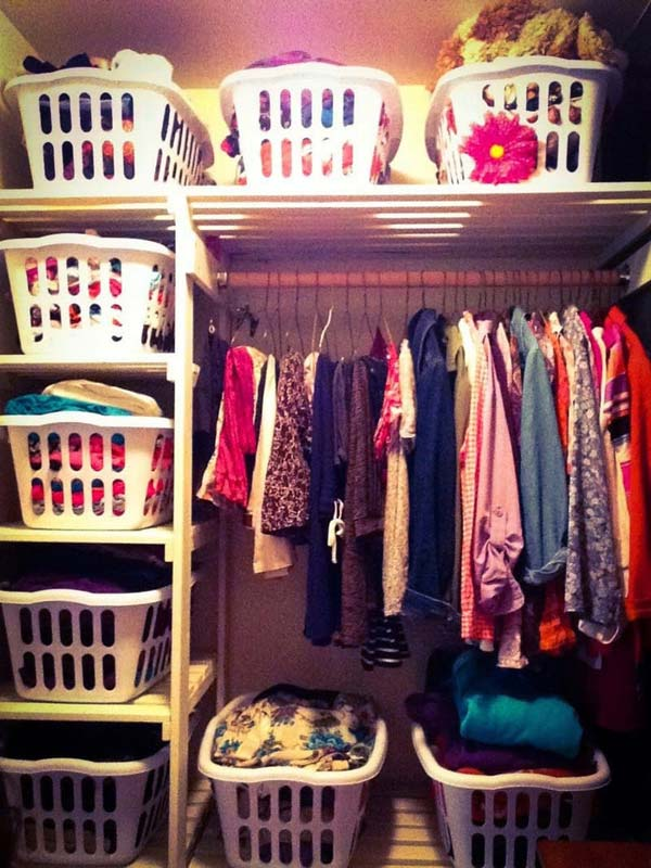 Low Cost Diy Closet For The Clothes Storage Amazing