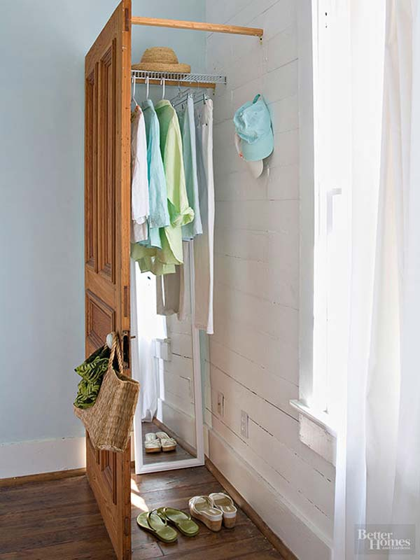 Low Cost Diy Closet For The Clothes Storage Amazing Diy Interior