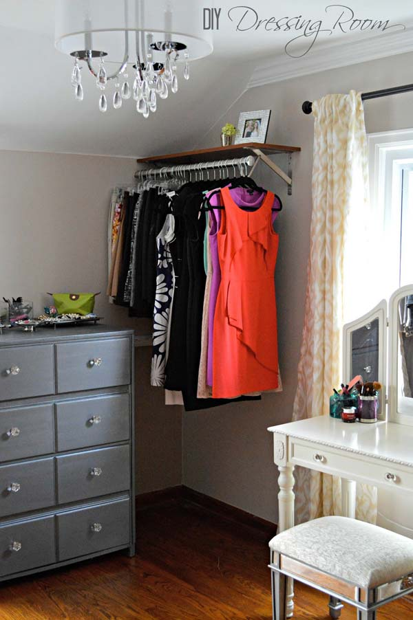 Low Cost Diy Closet For The Clothes Storage Amazing Diy