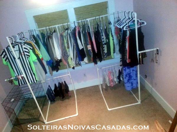 diy closet ideas 2. Low Cost DIY Closet for The Clothes Storage   Amazing DIY