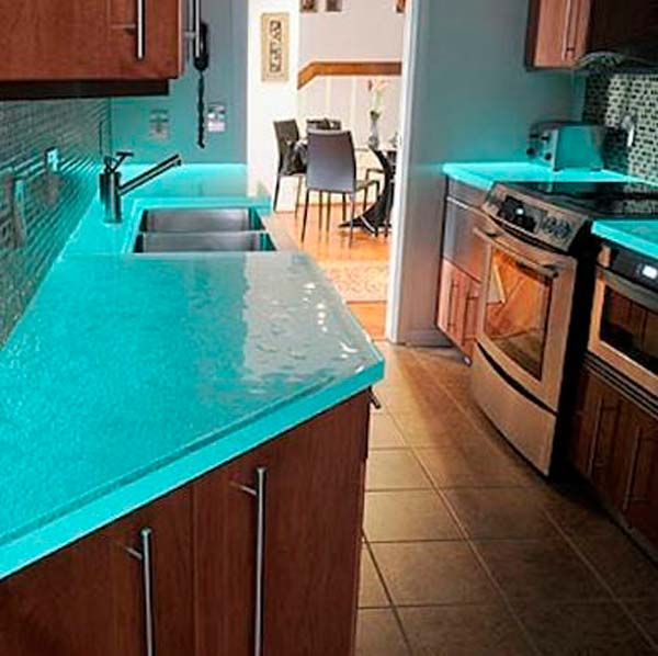 Blue Quartz Kitchen Countertops: Make A Glow-In-The-Dark Project For Home Decor