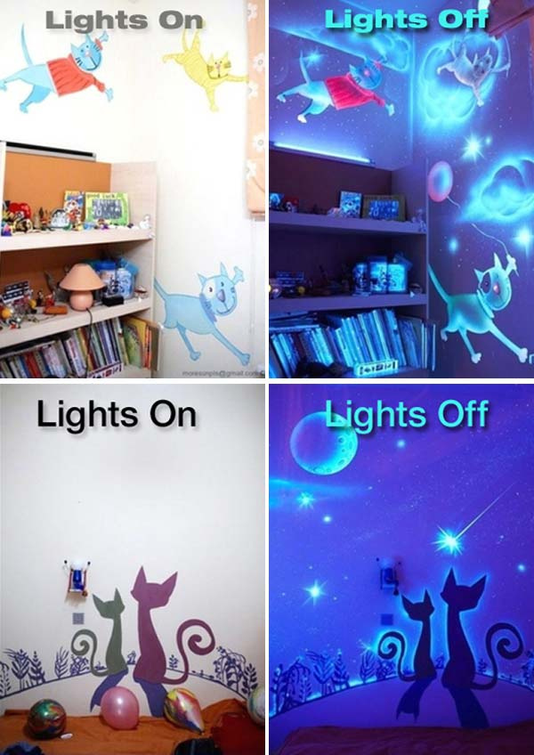 Make A Glow In The Dark Project For Home Decor Amazing Diy Interior Home Design
