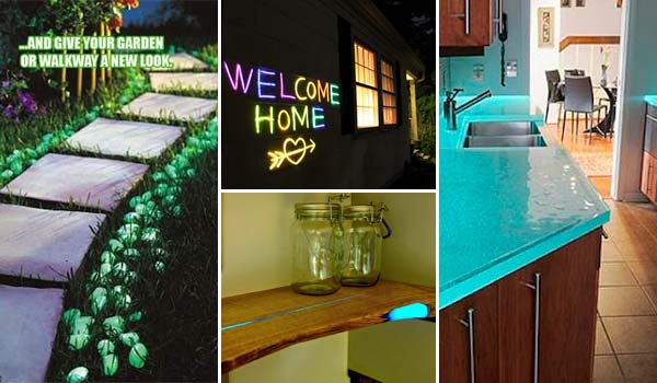 Make a Glow-In-The-Dark Project for Home Decor