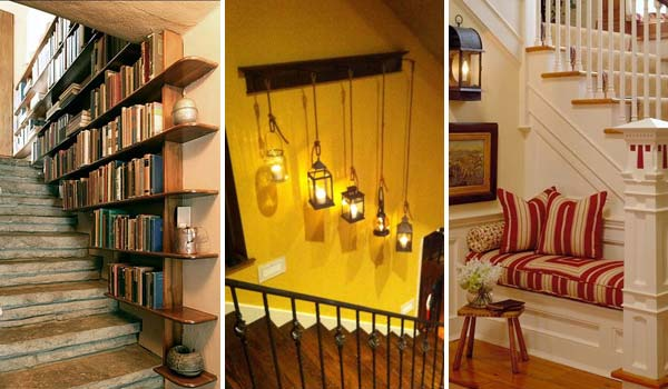 Fresh & Cool Ideas to Decorate Your Staircase Space