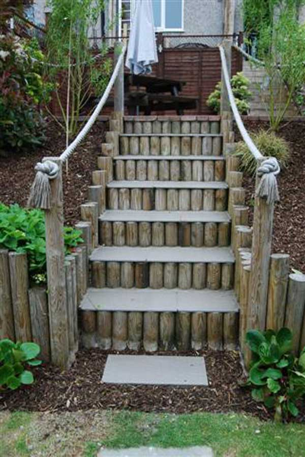 The best 23 diy ideas to make garden stairs and steps amazing diy source unknown workwithnaturefo
