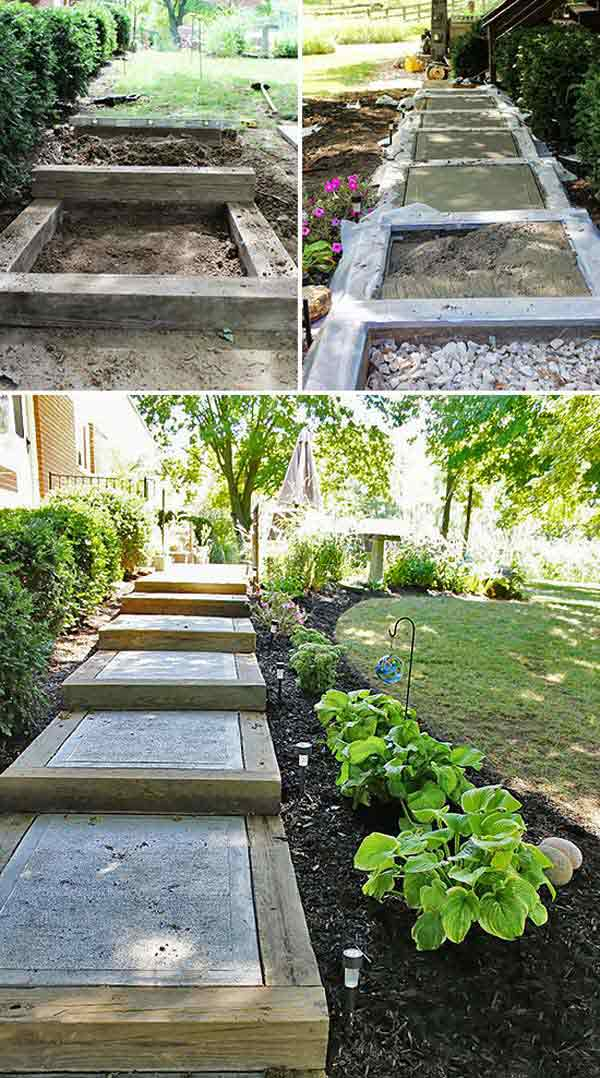 The best 23 diy ideas to make garden stairs and steps amazing diy source nettetipps workwithnaturefo