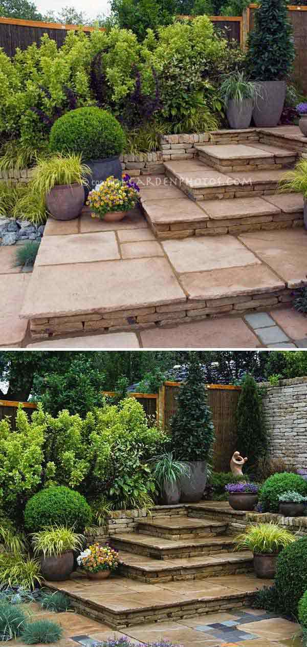 Ideas Down Stair Garden