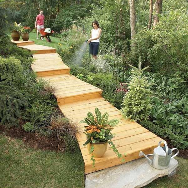 12 Diy Old Pallet Stairs Ideas: The Best 23 DIY Ideas To Make Garden Stairs And Steps