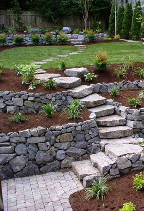 The best 23 diy ideas to make garden stairs and steps amazing diy source dreaminggardensspot workwithnaturefo