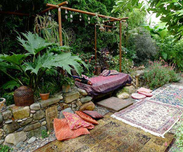 Top 34 Amazing Garden Decor Ideas in Bohemian Style - Amazing DIY ...