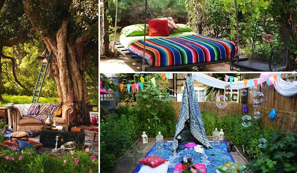 Top 34 Amazing Garden Decor Ideas in Bohemian Style Amazing DIY