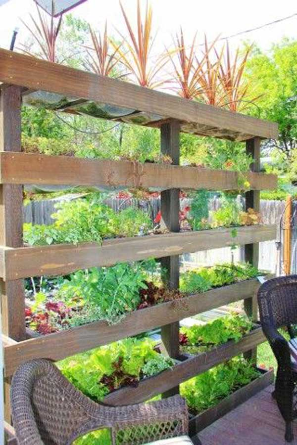 Vegetable Garden Fence Ideas Planters