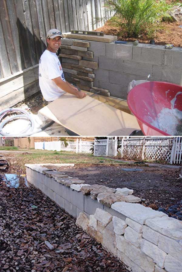 Building A Diy Retaining Wall