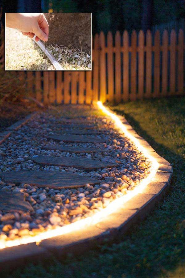Top 28 Ideas Adding DIY Backyard Lighting for Summer ... on Backyard String Lights Diy id=13490