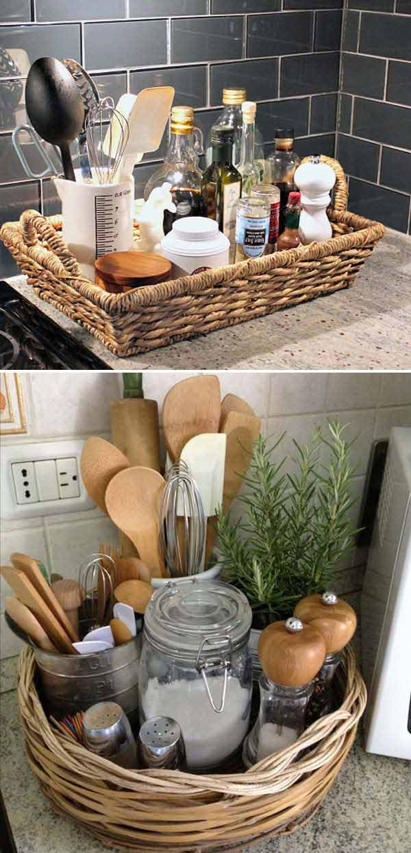 Top 21 Awesome Ideas To Clutter Free Kitchen Countertops