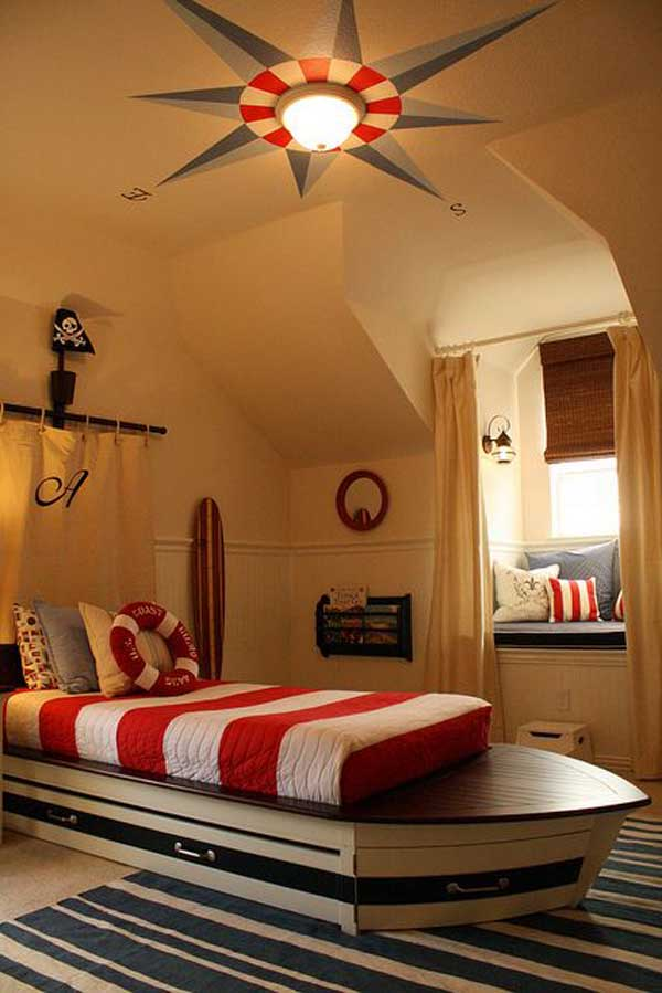 These 21 Nautical Inspired Room Ideas Your Kids Will Say Wow