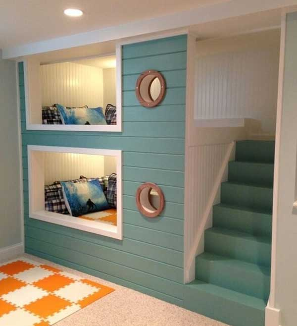 Nautical Bunk Beds: These 21 Nautical-Inspired Room Ideas Your Kids Will Say WOW