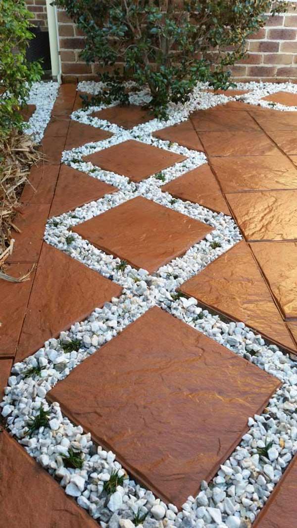 29 Cool White Gravel Decorative Ideas Amazing Diy
