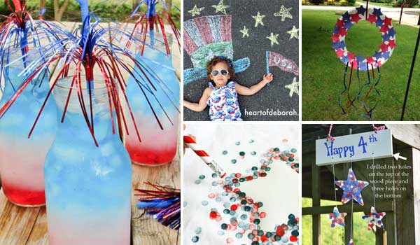 20 Easy Crafts to Keep Kids Busy on 4th of July