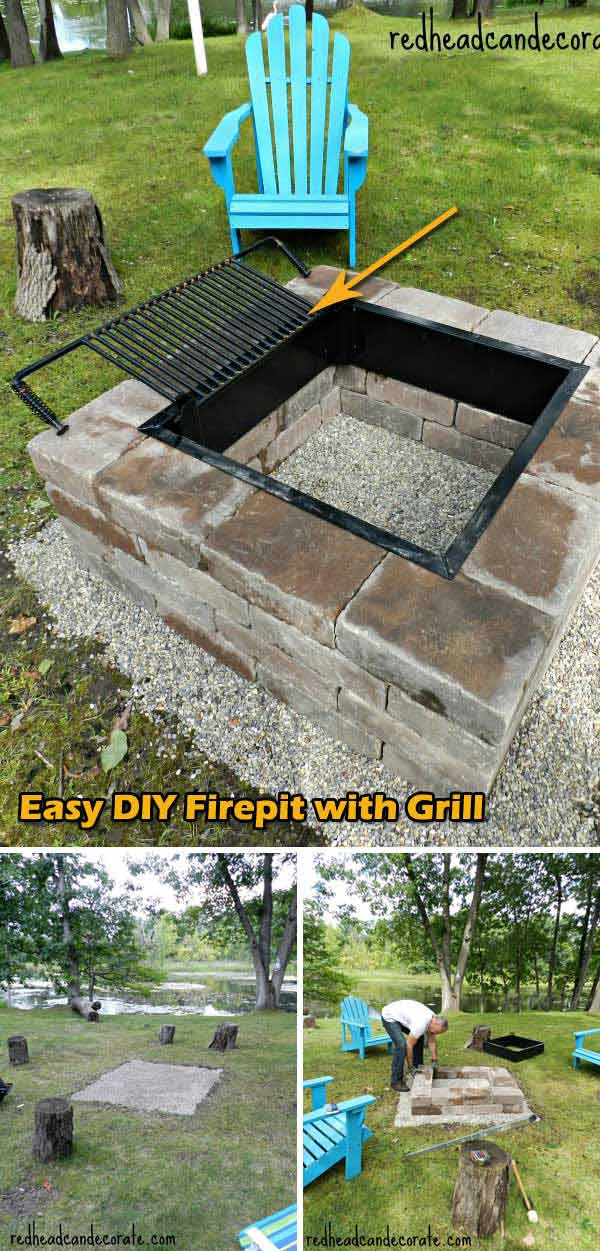 Top 31 Diy Ideas To Build A Firepit On Budget Amazing Diy