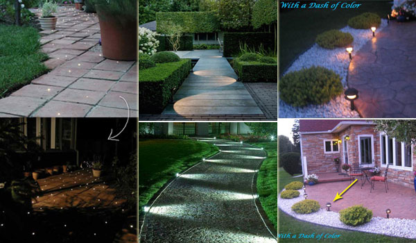 pathway lighting ideas. diy pathway lighting ideas for garden and yard