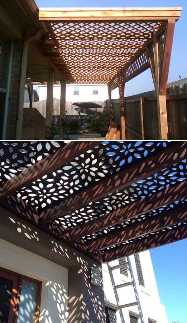 Stunning Ways To Bring Shade To Yard Or Patio Amazing Diy Interior Home Design