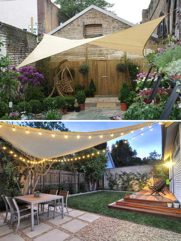 Stunning Ways to Bring Shade To Yard or Patio - Amazing ... - photo#25