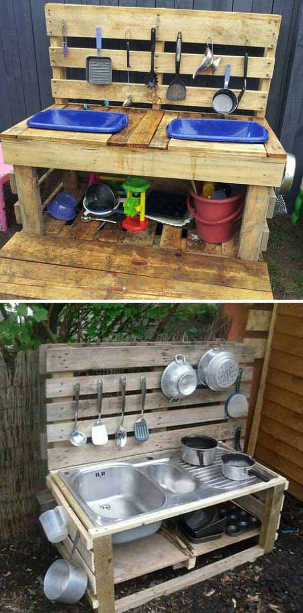Take A Look At The Awesome Pallet Creations Below You Will Find That Make Cool Project To Keep Your Kids Entertained For Hours Is Easy And It Just