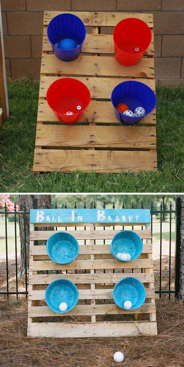 21 No Money Backyard Pallet Diys For Kids Summer Fun