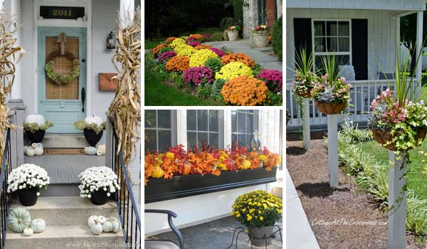 Whether You Admit It Or Not, Curb Appeal Is Important All Year Around. The  Front Side Of A House With Well Decorated Gives Wonderful First Impression  To ...