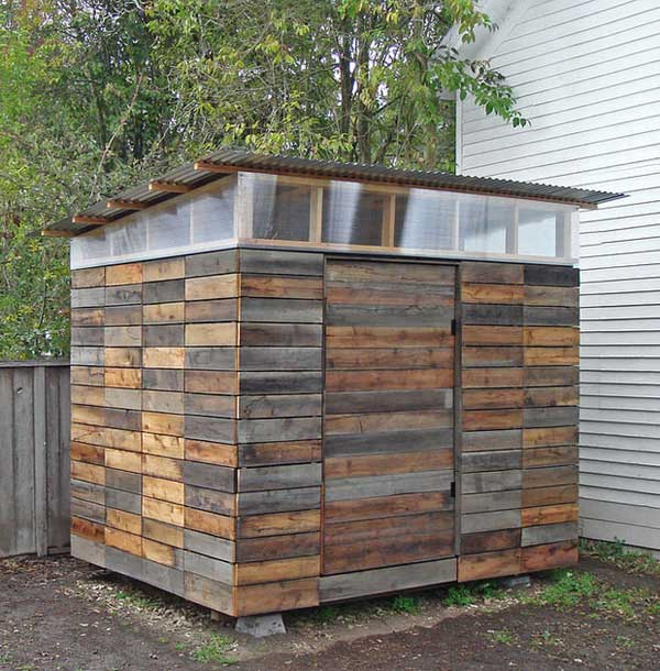 21 diy garden and yard sheds expand your storage