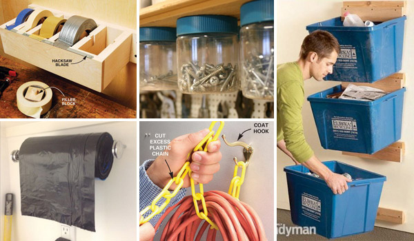 Top 24 Cheap and Easy Garage Organization Ideas