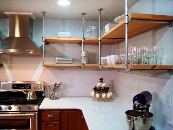 Interesting and Practical Shelving Ideas for Your Kitchen on tv for kitchen ideas, wall for kitchen ideas, shelf garage ideas, shelf bar ideas, cabinets for kitchen ideas, lighting for kitchen ideas, shelf decorating ideas, hutch for kitchen ideas, storage for kitchen ideas, shelf garden ideas, countertop for kitchen ideas,