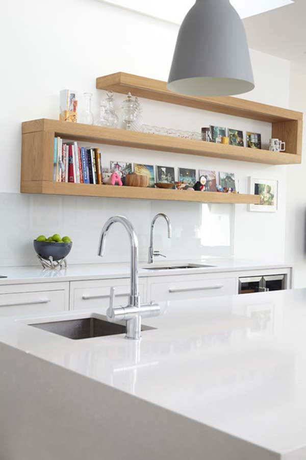 Futuristic Kitchen Shelving Ideas Property