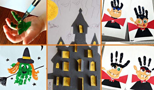27 Halloween Kids Crafts That Are More Cute Than Spooky