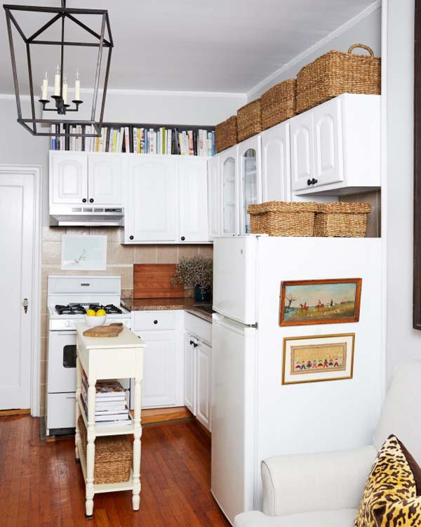 Decorating Space Above Kitchen Cabinets: 20 Stylish And Budget-friendly Ways To Decorate Above