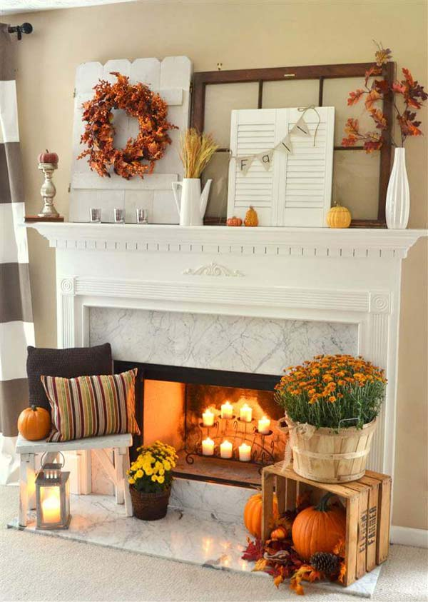 38 Fall Decorating Ideas in The Style of Farmhouse
