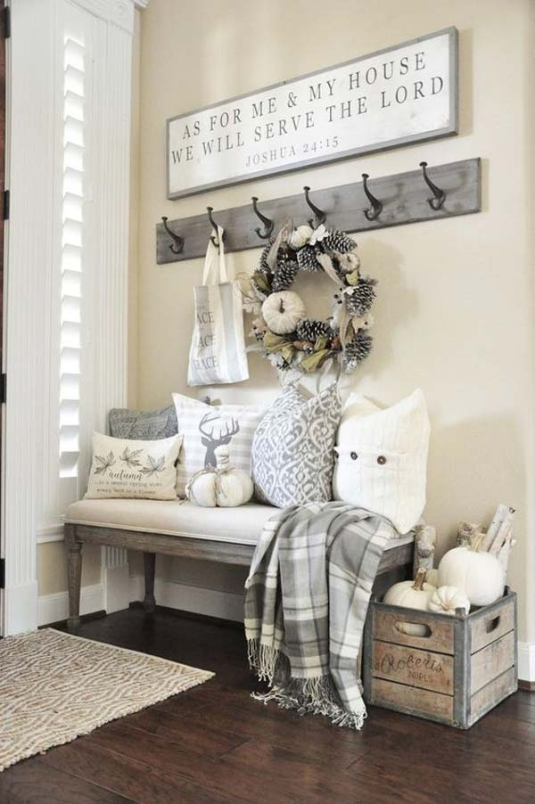 38 Fall Decorating Ideas in The Style of Farmhouse - Amazing DIY ...