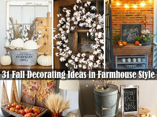 38 Fall Decorating Ideas In The Style