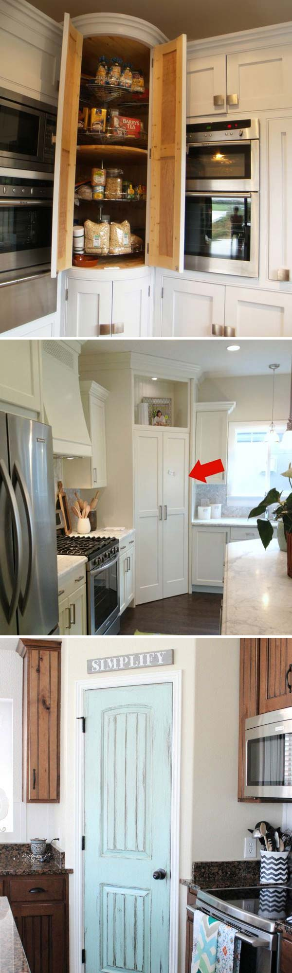 Fabulous Hacks To Utilize The Space Of Corner Kitchen Cabinets Amazing Diy Interior Home Design