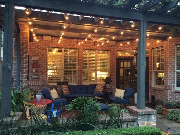 27 Diy String Lights Ideas For Fall Porch And Yard