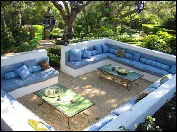 21 awesome sunken fire pit ideas to steal for cozy nights for Create sunken seating area